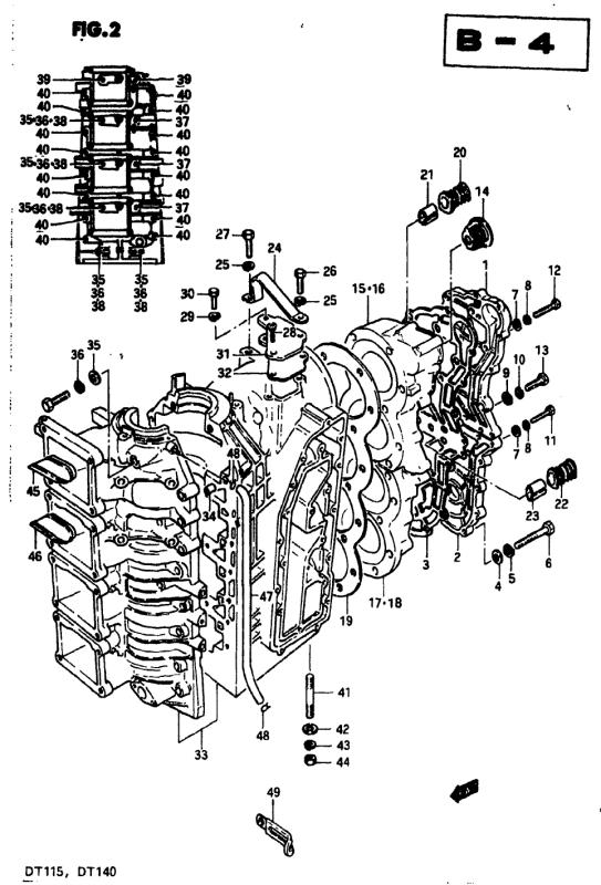 Crankcase 2 (Model Vz)