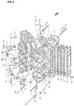 Cylinder Head (Dt150s/200a/200s)(~Model:92)