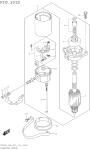 Starting Motor (Df25aq P03)