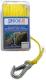HOLLOW BRAID POLY-PRO ANCHOR LINE W/SNAP (SEADOG)