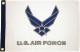 FLAG 12X18 USAF WINGS
