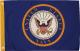 FLAG 12X18 USMC RED SEAL
