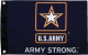 FLAG 12X18 ARMY STRONG