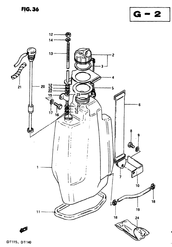 Oil Tank (Model J)
