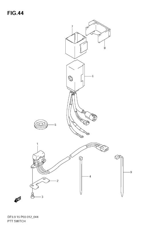 Ptt Switch (Df9, 9t)