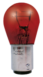 RED REPLACEMENT BULB 12V - 15W