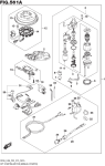 Opt:Starting Motor (Manual Starter) (Df8a P03)