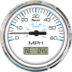 GPS SPEEDO 80MPH CHES SS WHITE