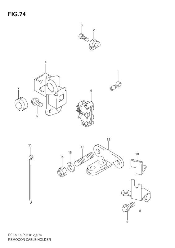 Remocon Cable Holder (Df9, 9t)