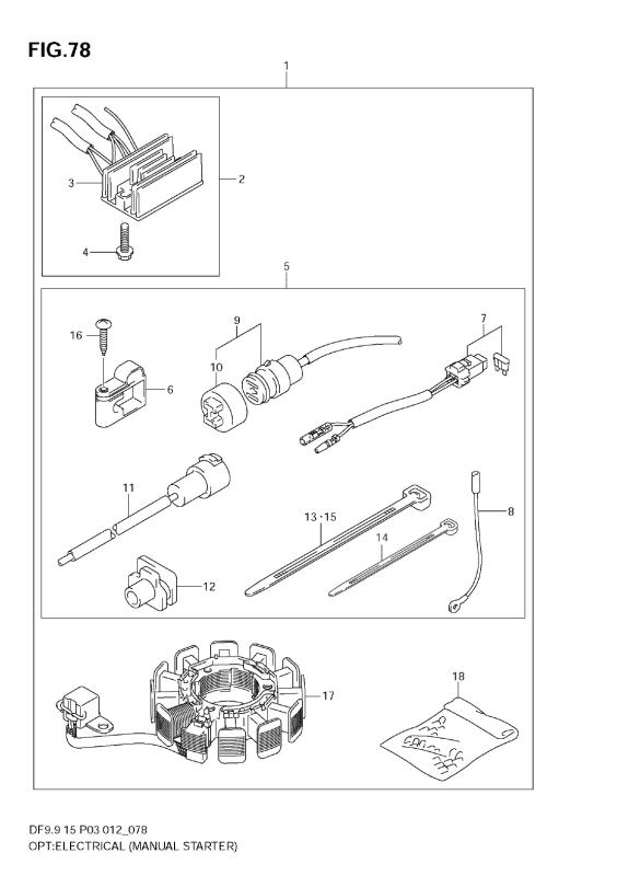 Opt:Electrical (Manual Starter) (Df15)