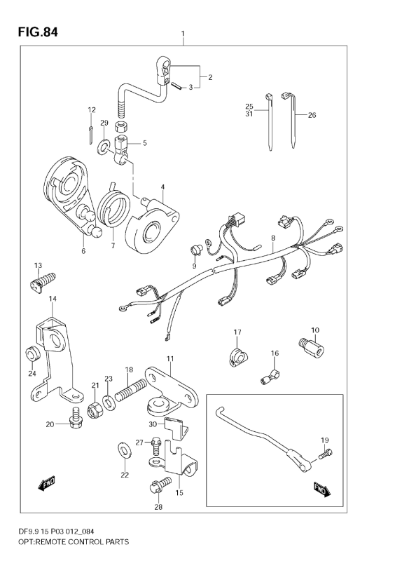 Opt:Remote Control Parts (Df9, 9th)