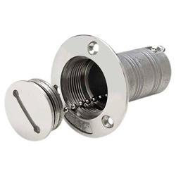 "Water Fill Cast, 1 1/2"" Hose, Stainless Steel - Seachoice"