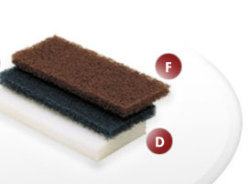 Medium Scrubber Pad (2 Pack) - Shurhold