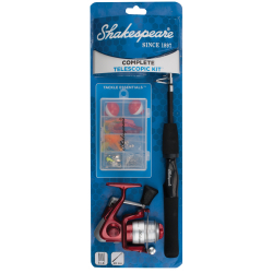 Shakespeare® Complete Spinning Telescopic Kit