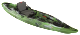 Predator MX, Fishing Kayak, Lime Camo - Old T …