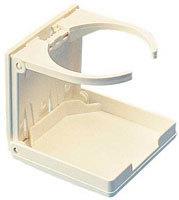 Adjustable Folding Drink Holder White SeaDog Line