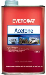 Acetone, Quart - Evercoat