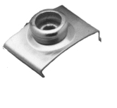 "7/8"" Stainless Steel Top-Lok, 4ea - Taylor Made"