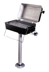 Barbeque Grill with Post Mount - Springfield