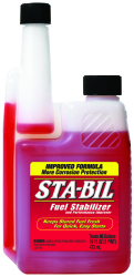 Sta-Bil Fuel Stabilizer, Twin Neck Bottle, 16oz - Gold Eagle