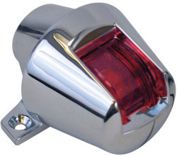 Vertical Mount Zamak Boat Sidelight, Red - Attwood