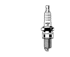 Spark Plug shop pack, 25/box BR8HS-10 - NGK