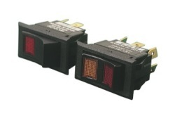 Illuminated Rocker Switch On-Off-On 6-term DPDT - Seadog Line