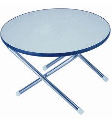 "Melamine Top 24"" Round Folding Deck Table - Garelick"