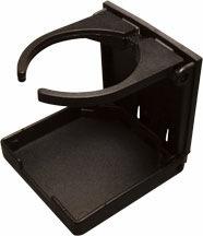 Adjustable Folding Drink Holder Black SeaDog Line
