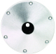 "9 in Round 1.77"" Post Base Plate - Swivl-Eze"