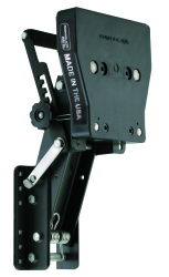 "Aluminum Auxiliary Motor Bracket for up to 169 lbs 4-Stroke Motors 7-1/2 to 30hp, 9-1/2"" Travel - Garelick"