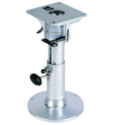 "Blue Water Adjustable 12""-17"" Ribbed Seat Pedestal - Garelick"