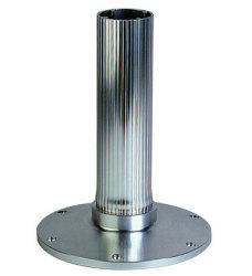 "12"" Fixed Height Ribbed Seat Pedestal - Garelick"