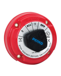Ignition Protected Battery Selector Switch without Key Lock - Perko