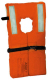 Adult Universal Sized Nylon Life Jacket/Vest Orange Type I -Kent