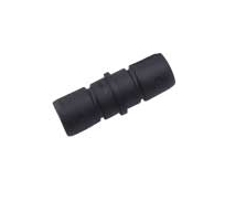 "Convertible Top Tube Connector F/7/8"" Blk 2-1/4""L SeaDog Line"