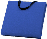 Nylon Boat Cushion, Blue - Kent