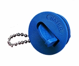 Flip Key Keyless Colored Deck Fill Flip Cap Water Blue SeaDog Line