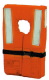 Child 30-90 lbs Nylon/Foam Life Jacket/Vest Orange Type I -Kent