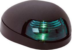 Green Quasar Sidelight, Black Housing - Attwood