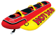 Airhead Hot Dog Tube/Towable; 3-Person Capacity