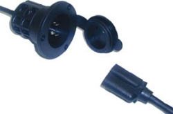 ProTournament Universal and AC Plug Holder, Black - ProMariner