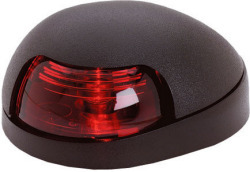 Red Quasar Sidelight, Black Housing - Attwood