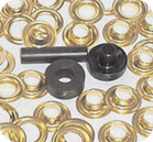 "3/8"" E-Z Grommet Brass Grommets, 12 Sets - Taylor Made"