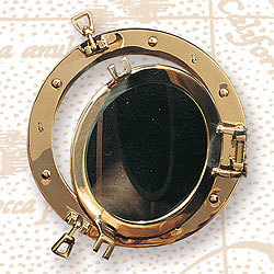 Porthole Window, Brass, 17