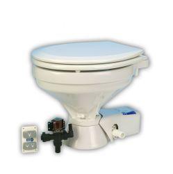 Jabsco Marine Quiet Flush Toilet, Yacht Standard, 12V, 18 25 - ITT Jabsco