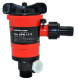 "Johnson Pumps Twin Port 750 GPH Cartridge Livewell Aerator Pump; 3/4"" Dia. Inlet, Dual 3/4"" Dia. outlet"
