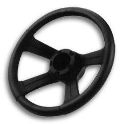 "13"" Soft Grip Wheel With Cap - Attwood"