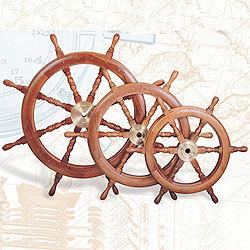 Boat Wheel, Deluxe Class, 18
