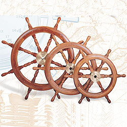 Boat Wheel, Deluxe Class, 48